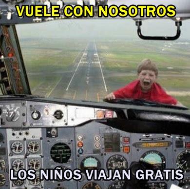 avion-niños-gratis