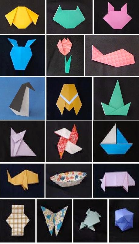 really easy origami for kids