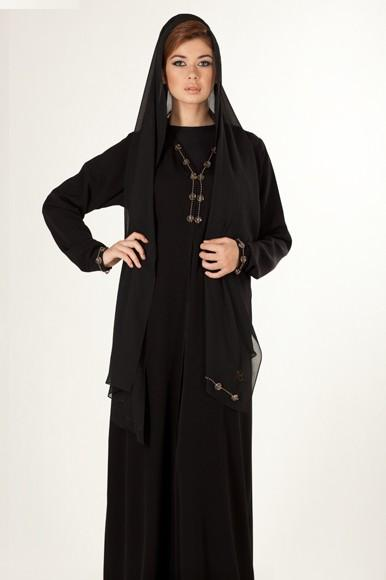Simple Women Abaya Designs 2011