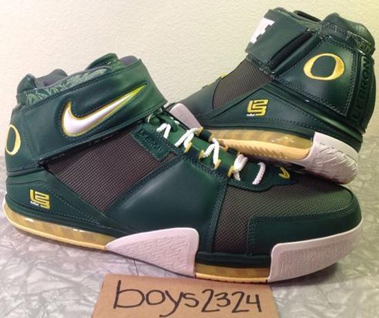Nike Zoom LeBron II Oregon Ducks