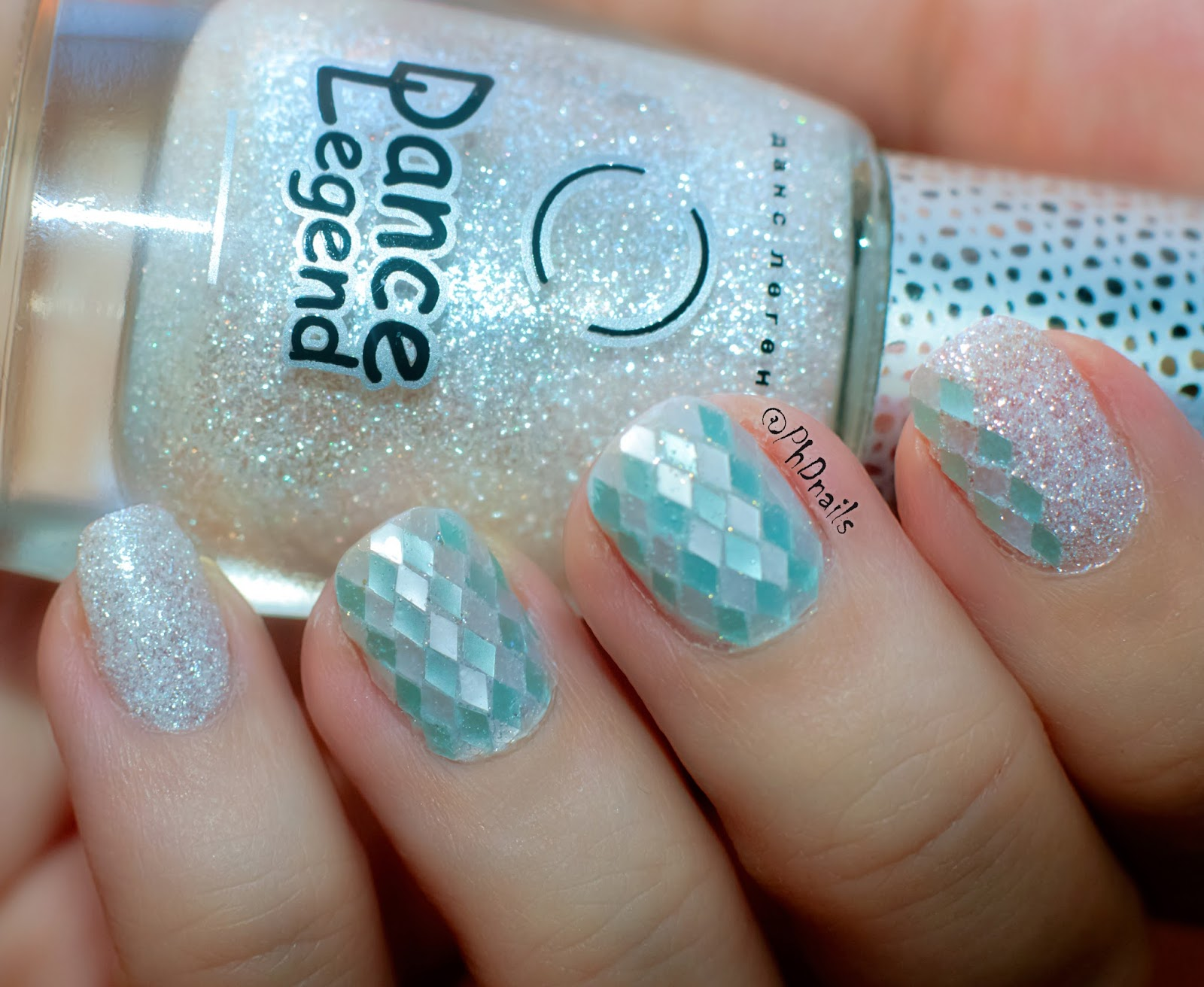 Phd Nails Hpb Presents Glitter Placement Nail Art With Dance