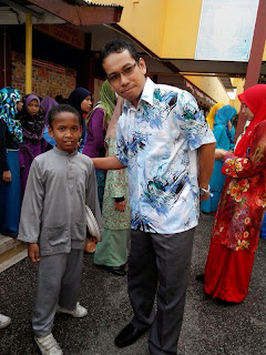 Majlis sambutan hari raya aidilfitri SK Kuala Besut II|tengku zaihan bin che ku abd rahman