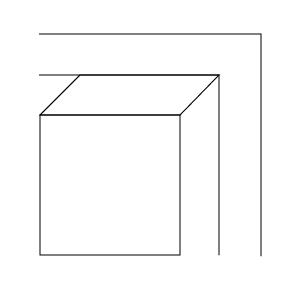 3d box and lines