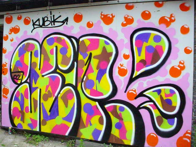 estilo de graffitis: