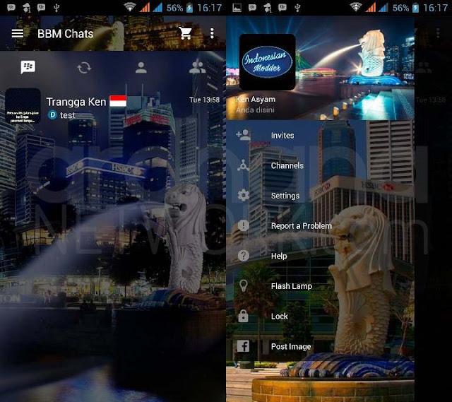 Preview BBM Merlion - BBM Android V2.10.0.35