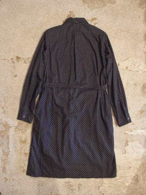 FWK by Engineered Garments BD Shirt Dress Polka Dot Brushed Twill Fall/Winter 2014