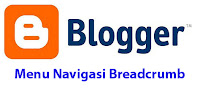 Menu navigasi breadcumbs