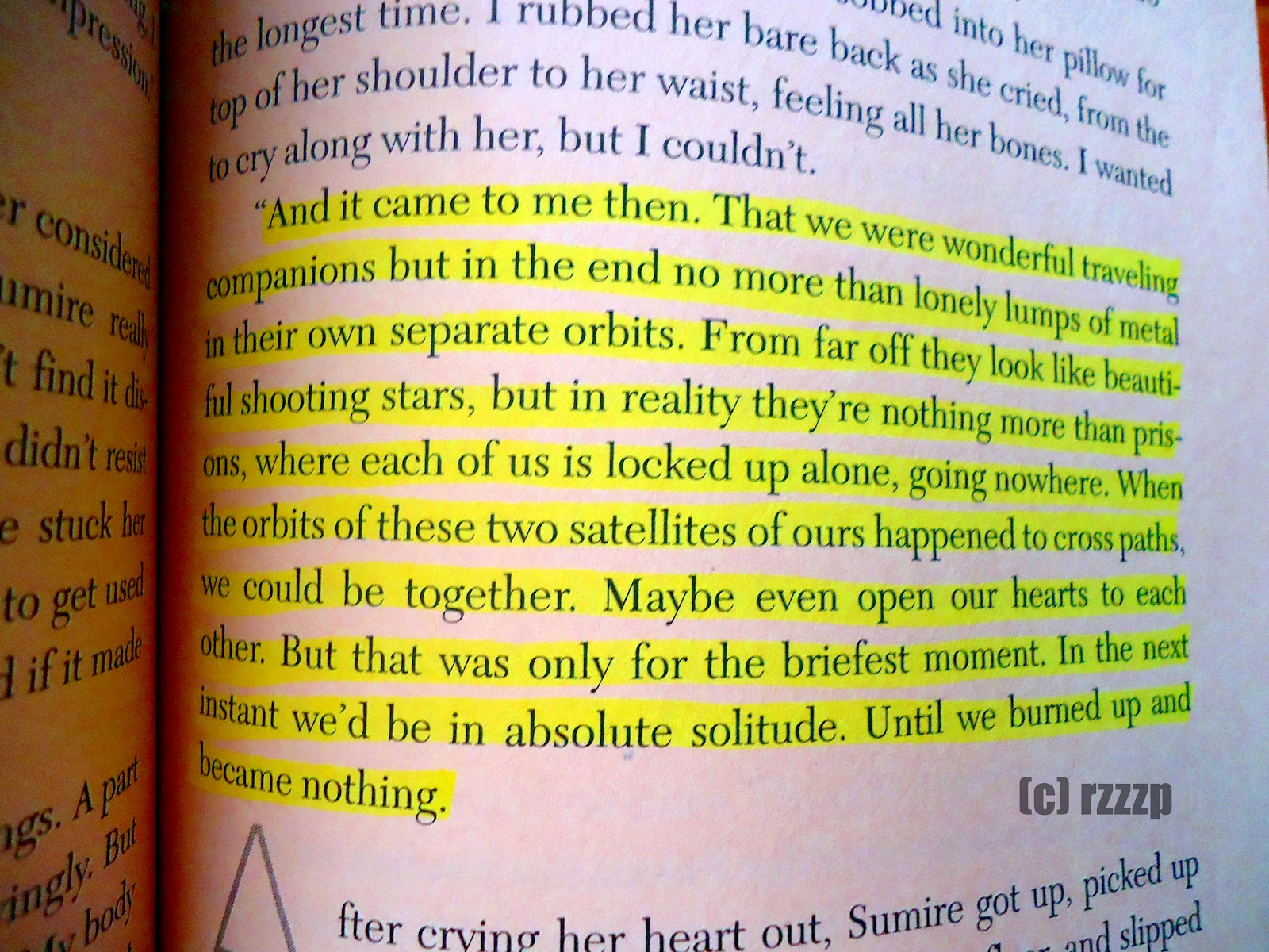 Quotes About Loving Books Coffeestained Dreams Review Sputnik Sweetheartharuki Murakami