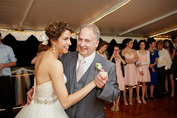 inn at woodstock hill wedding: father daughter dance