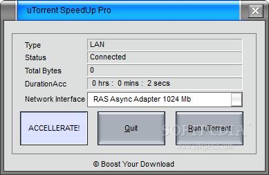 Download uTorrent SpeedUp Pro