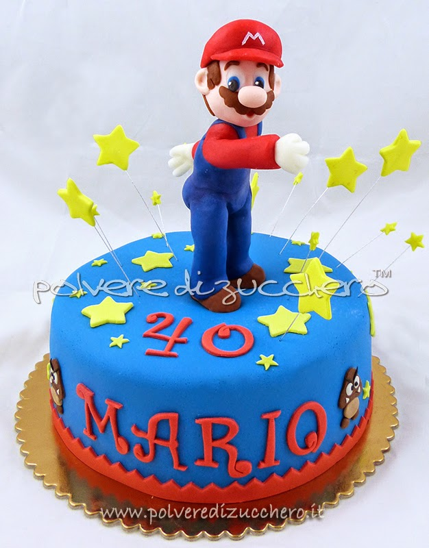 torta super mario bros fra le stelle polvere di zucchero. Black Bedroom Furniture Sets. Home Design Ideas