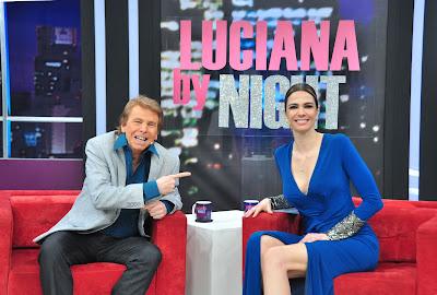 Nelson Rubens e Luciana Gimenez - Crédito: Fernanda Simão / Divulgação RedeTV!