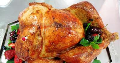 Receita de peru para o Natal fácil de fazer