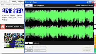 Free MP3 Cutter and Editor Terbaru