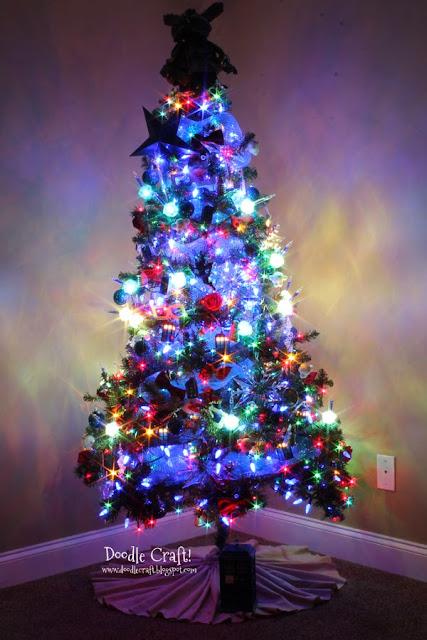Small Space Christmas Tree