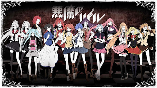Anime - Akuma no Riddle - Legendado - Online & Download