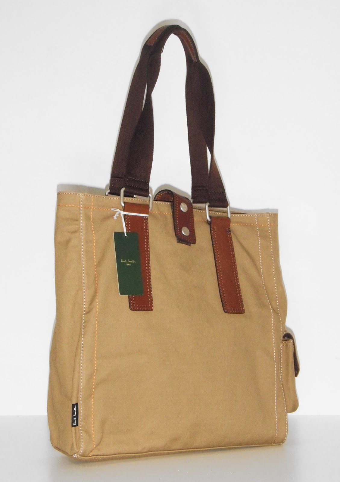 Branded Men's Sale: Paul Smith Canvas Tote Bag (Limited Edition ...