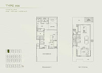 Palms @ Sixth Avenue 1st storey Floor Plans