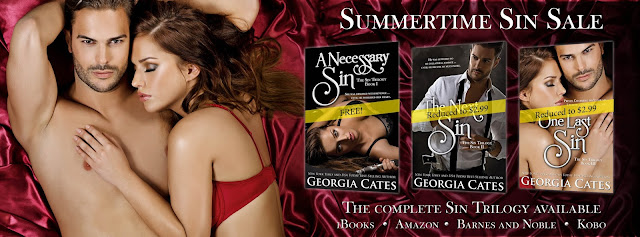 Sin Trilogy by Georia Cates Summertime Sale!
