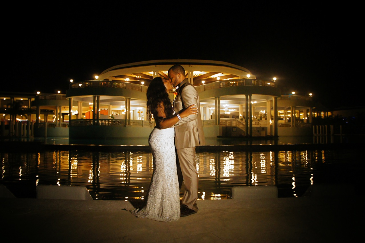 Destination Wedding Grand Palladium Jamaica Simone And Cale