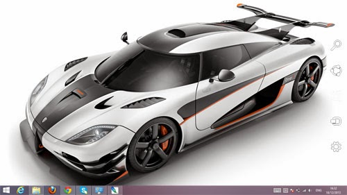 2014 Koenigsegg One Theme For Windows 7 And 8 8.1 9