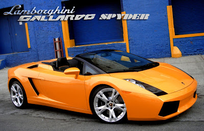 Lamborghini on Lamborghini Gallardo Spyder Orange   Cool Car Wallpapers