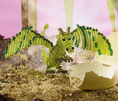 Плетение из бисера схема объемные
