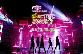 Electrik Shock Lyric - f(x) [ Miss Purple Life ]