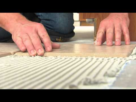 What Is It How To Do Install Floor Tile