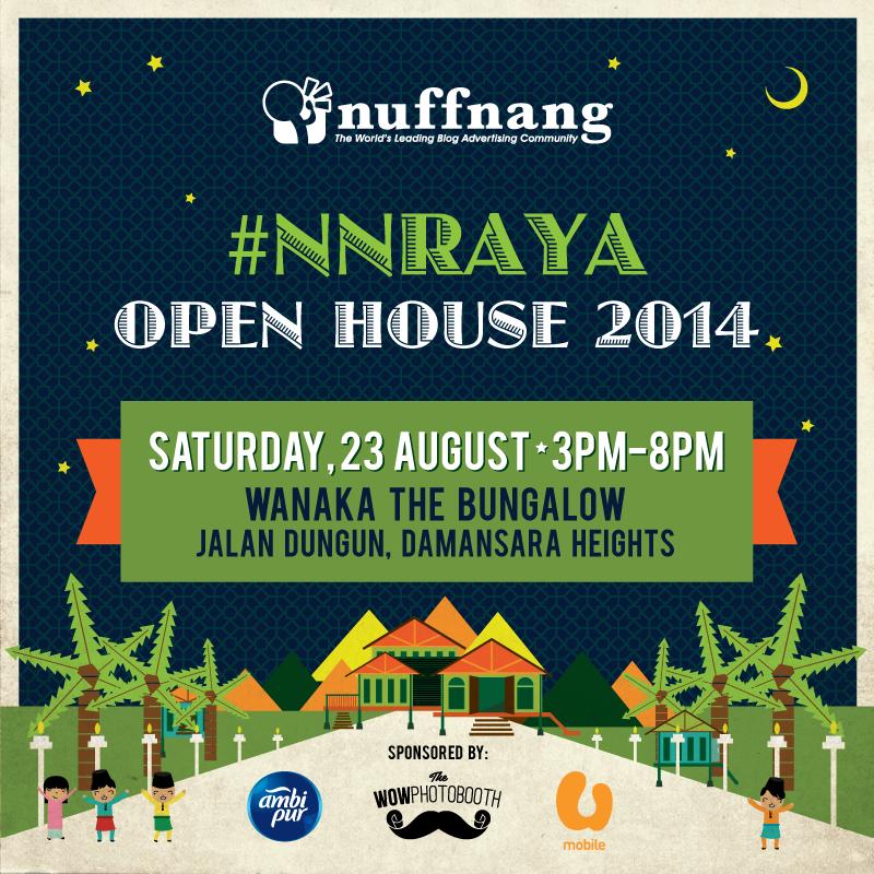 Nuffnang 1st Open House