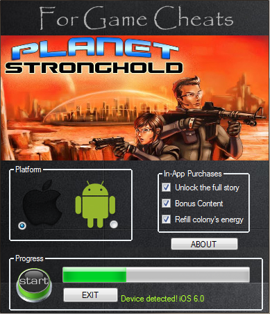 Planet Stronghold Game Hack