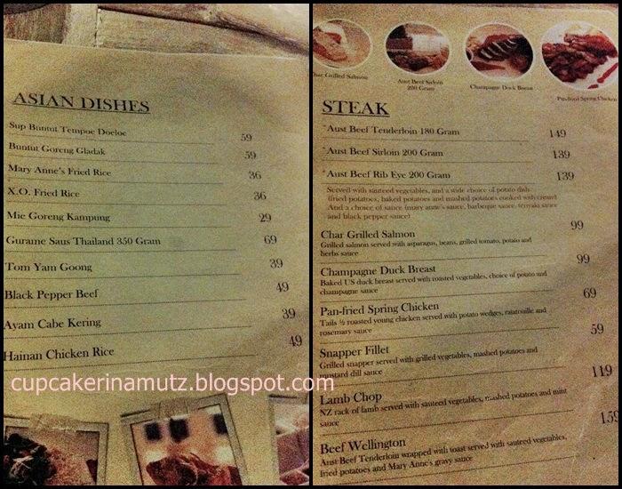 Kuliner jogja mary anne 39 s artisan ice cream resto for Z kitchen jogja menu