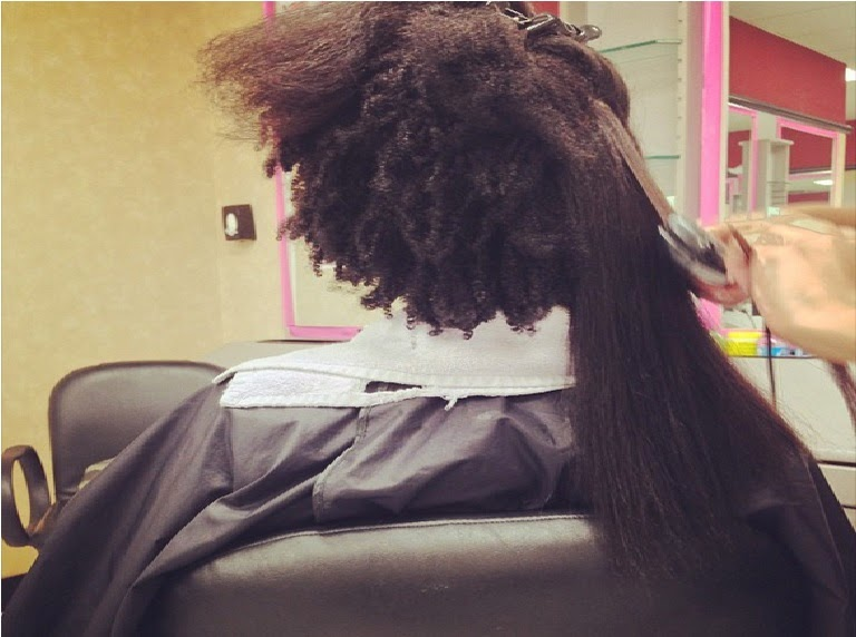 10 Pictures Of Natural Hair Shrinkage That Will Blow Your