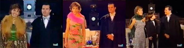 Campanadas en TVE, Cartlitos de Cuéntame, 2002