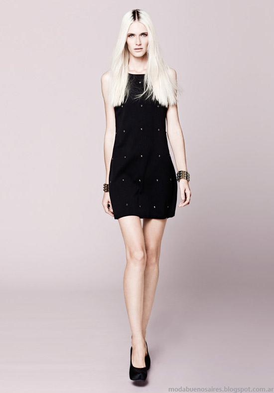 Vestidos invierno 2013 moda Basement