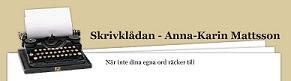 Min hemsida - Skrivklådan