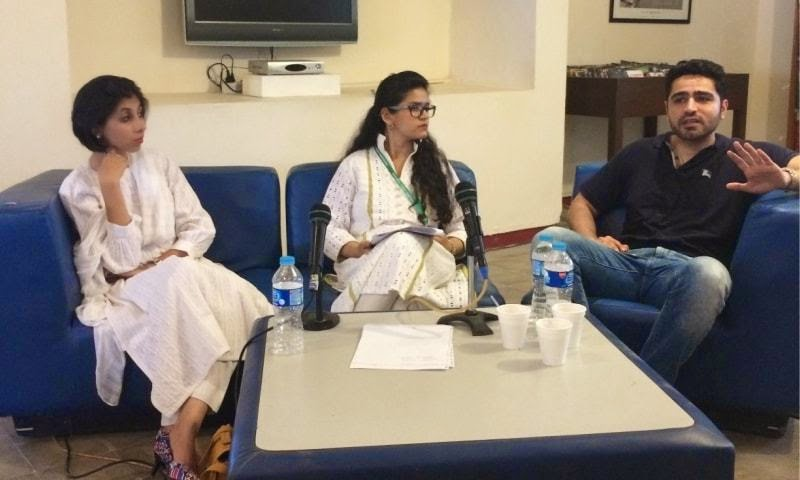 maliha rehman, naveen qazi and umair tabani
