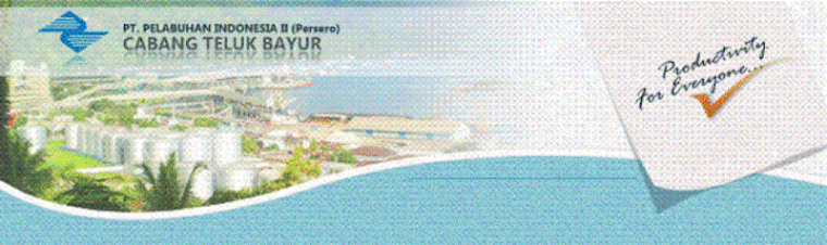 Posisi Kapal di Dermaga Teluk Bayur