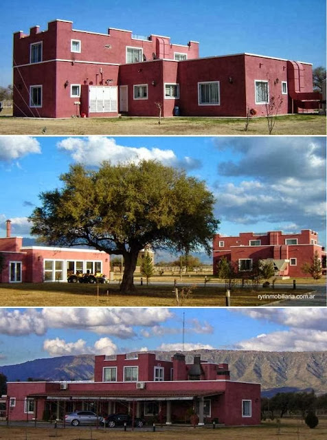 Casco de estancia Las Marías en San Luis, Argentina