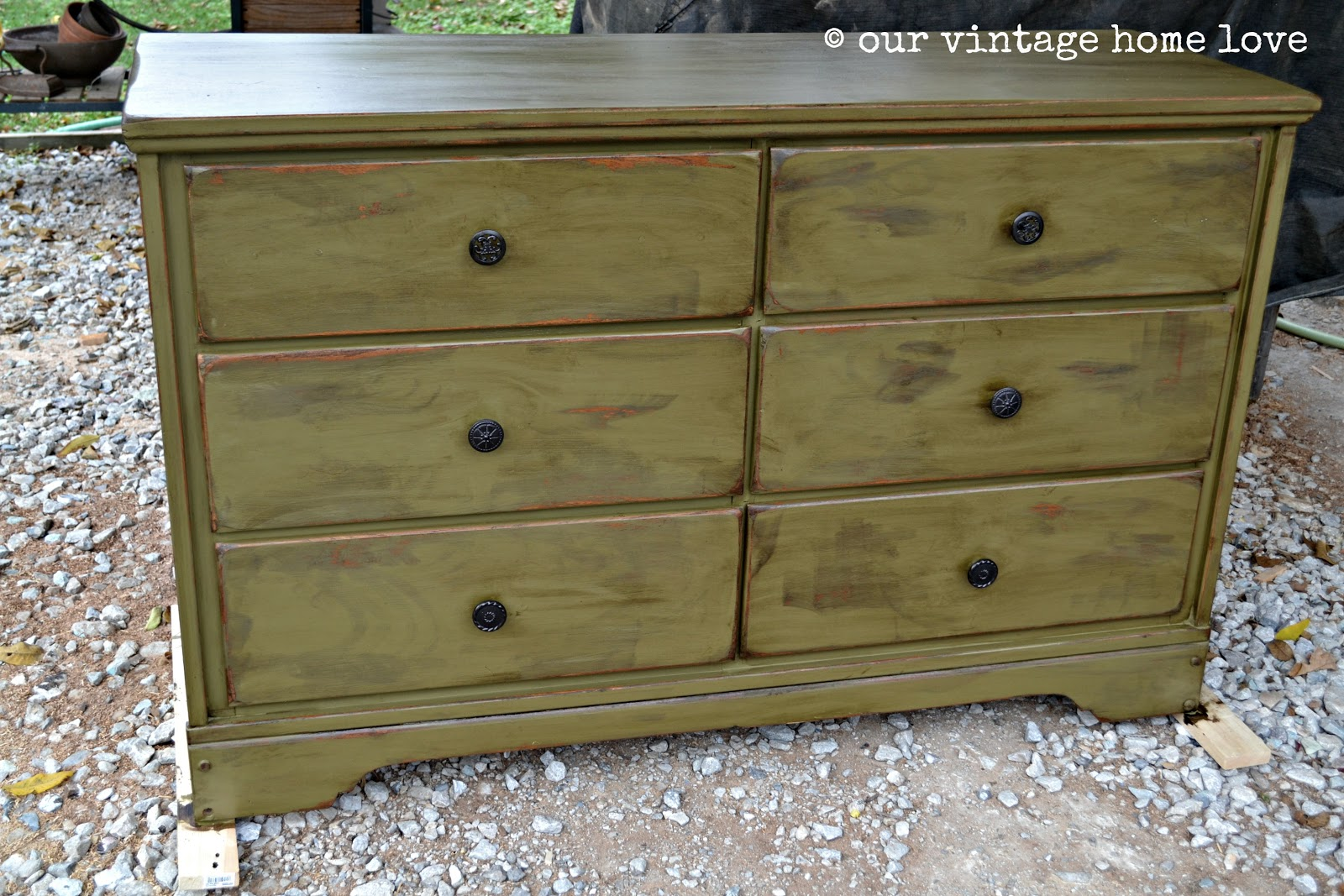Our vintage home love dresser redo for Redo furniture