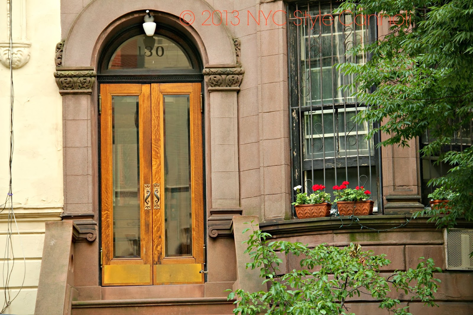 The Fabulous Door, In Such Detail, And The Flowers On The Ledge. I Had The  Pleasure In 2013 Of Really Walking Around The Upper West Side ...