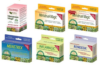 Natural Miracles for Menopause, menstrual symptoms and Muscle discomfort