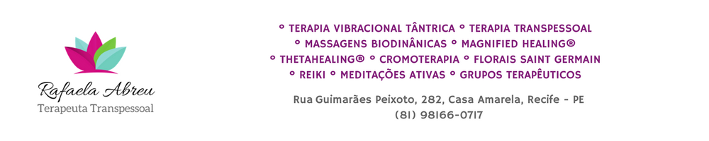 Rafaela Abreu Terapia Transpessoal