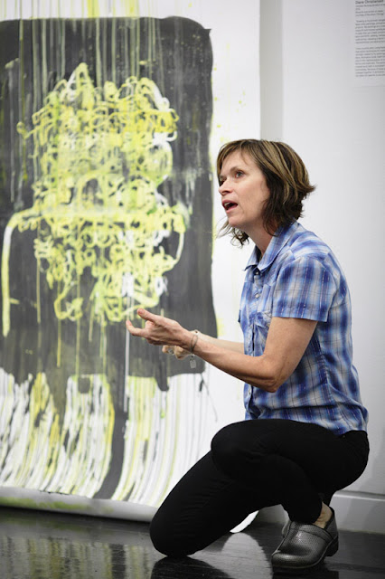 "Diane Christiansen in ""New American Paintings: Midwest Edition"" at the Elmhurst Art Museum"