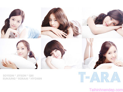 Wallpaper T-Ara for laptop - pc