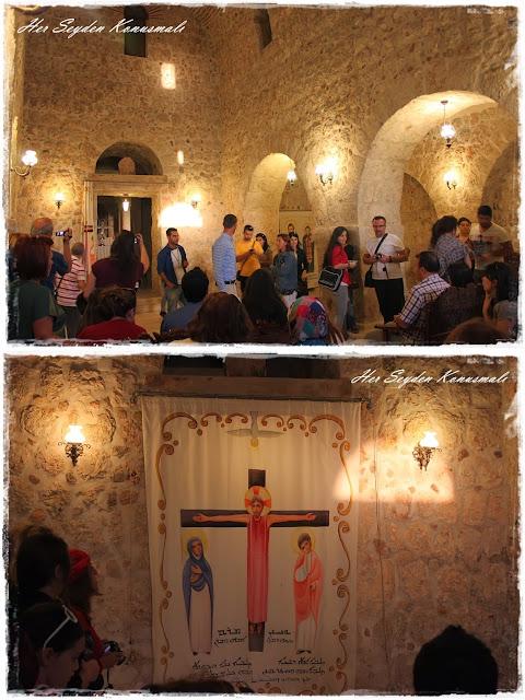 Mor Gabriel Manastırı'nın tarihi anlatılırken