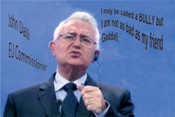 John Dalli A Bully