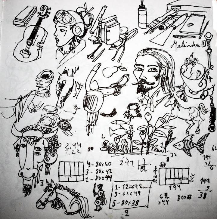 Dibujos bocetos 1