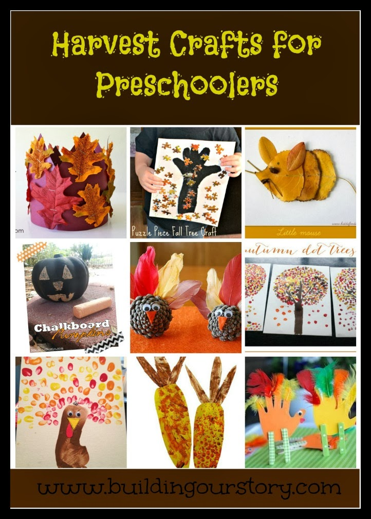 preschool harvest crafts harvest crafts for preschoolers building our story 508