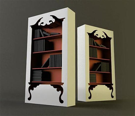 Romantic and provoking in its own right, this vintage-style bookcase could  be a favorite for the library of the space, or bedroom. Let's see the unique  ...
